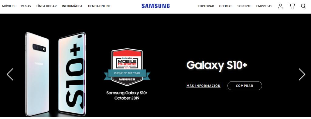 Samsung 0800 teléfono