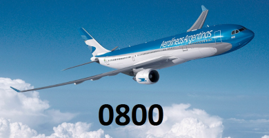 Aerolíneas Argentinas 0800