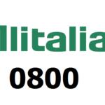 Alitalia 0800
