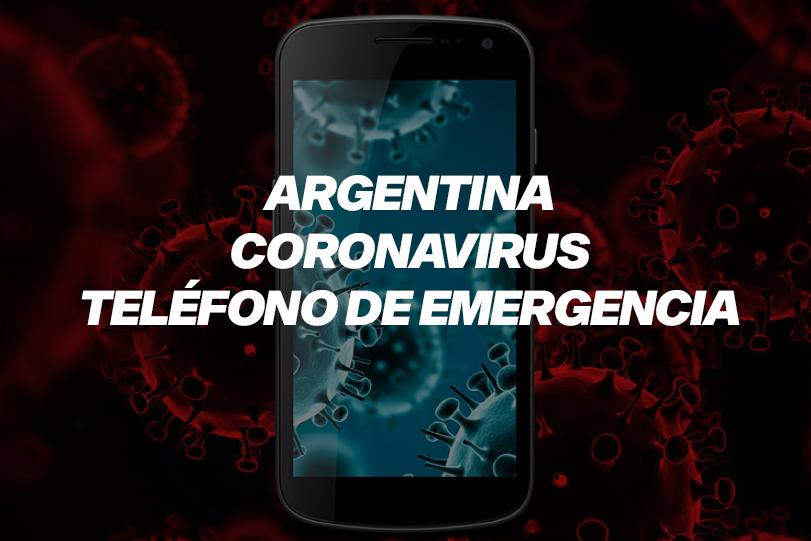 Teléfono 0800 coronavirus