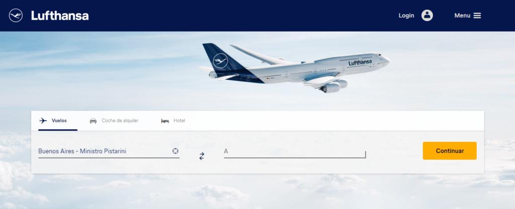 Lufthansa 0800
