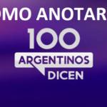 100 argentinos dicen casting